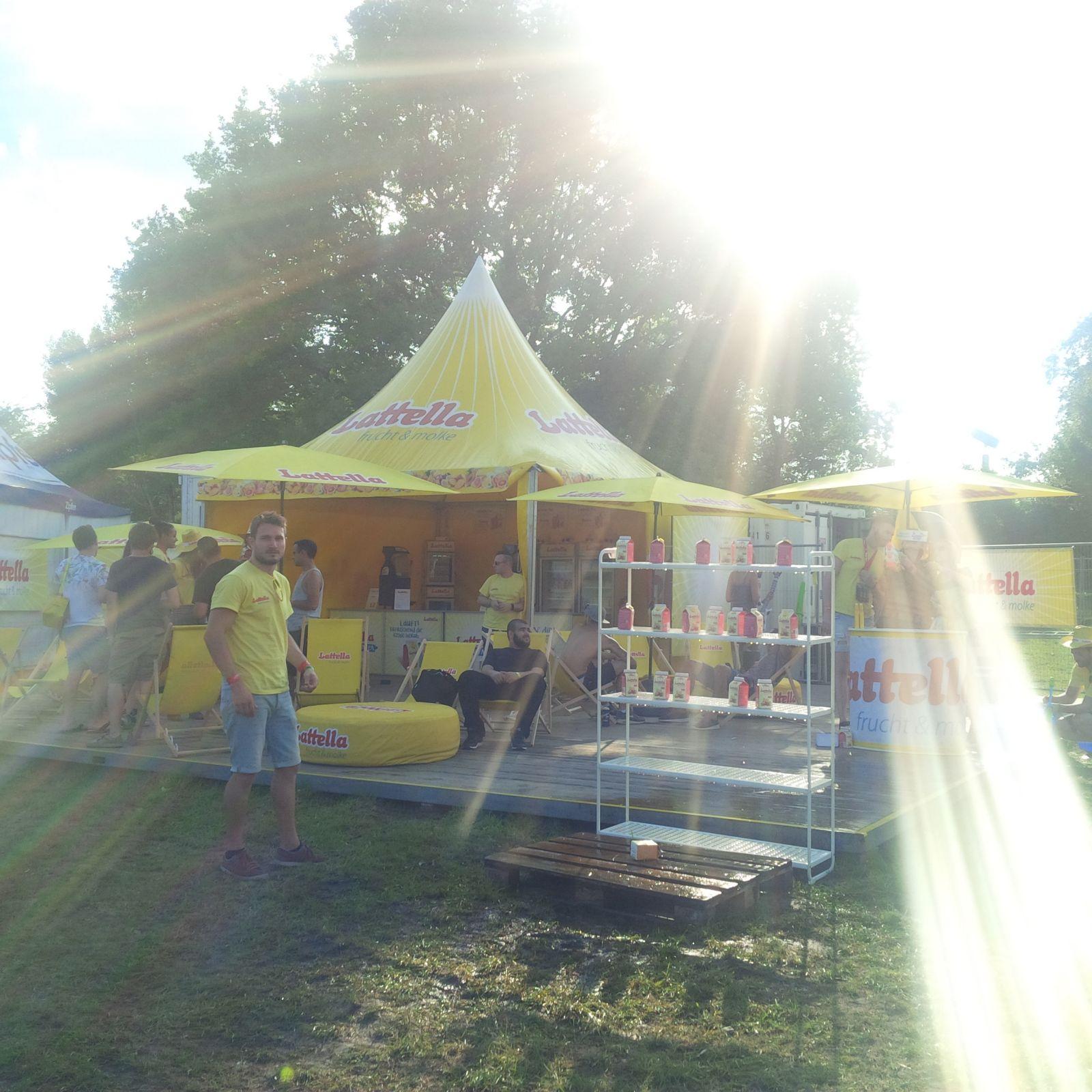 Latella @RovaRock Festival mit cinnamon Hospitality & Promotion u. buero wien