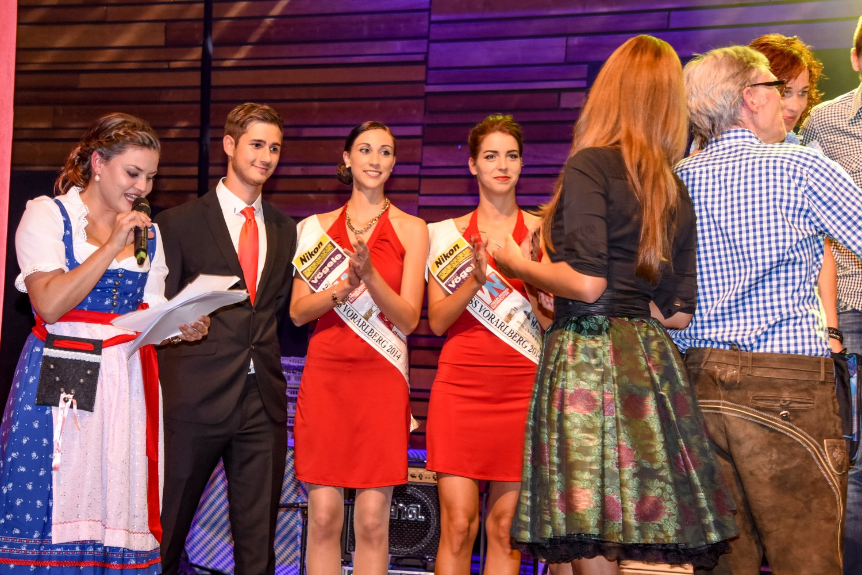 B4run Firmenlauf Dornbirn mit Miss u. Vize Miss Vorarlberg und cinnamon Hospitality & Promotion
