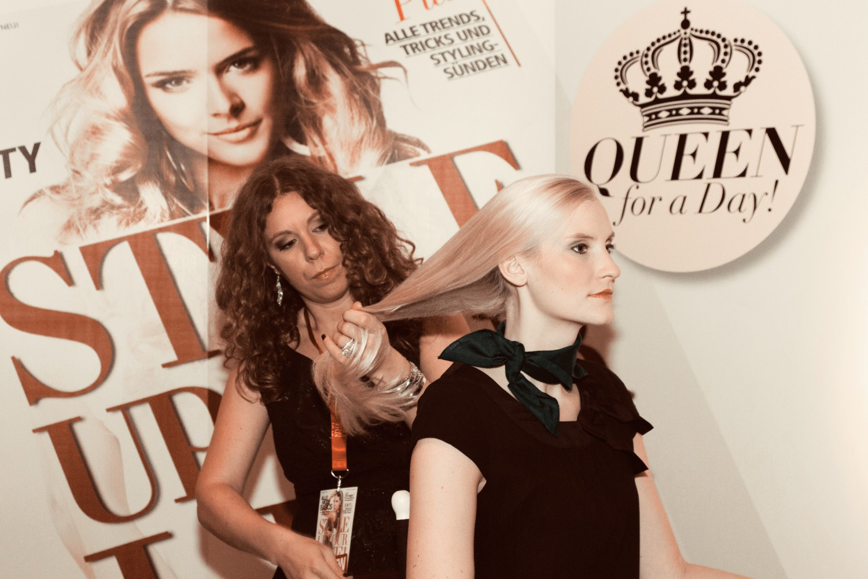 Make-up-Artists bei cinnamon Hospitality & Promotion