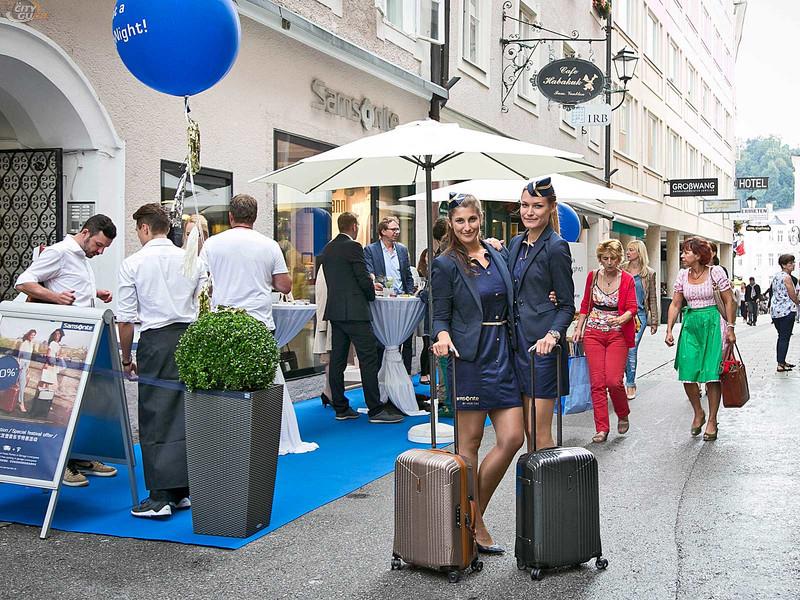 "cinnamon ""SAMSONIGHT"" Promotion Salzburg"