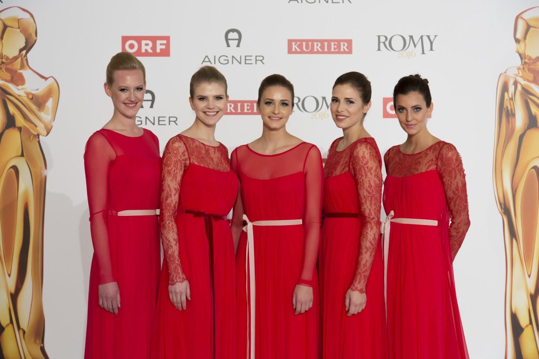 KURIER ROMY GALA 2016 mit cinnamon Hospitality & Promotion und buero wien