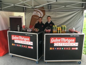 Guten Morgen Österreich - ORF Vorarlberg mit cinnamon Hospitality & Promotion
