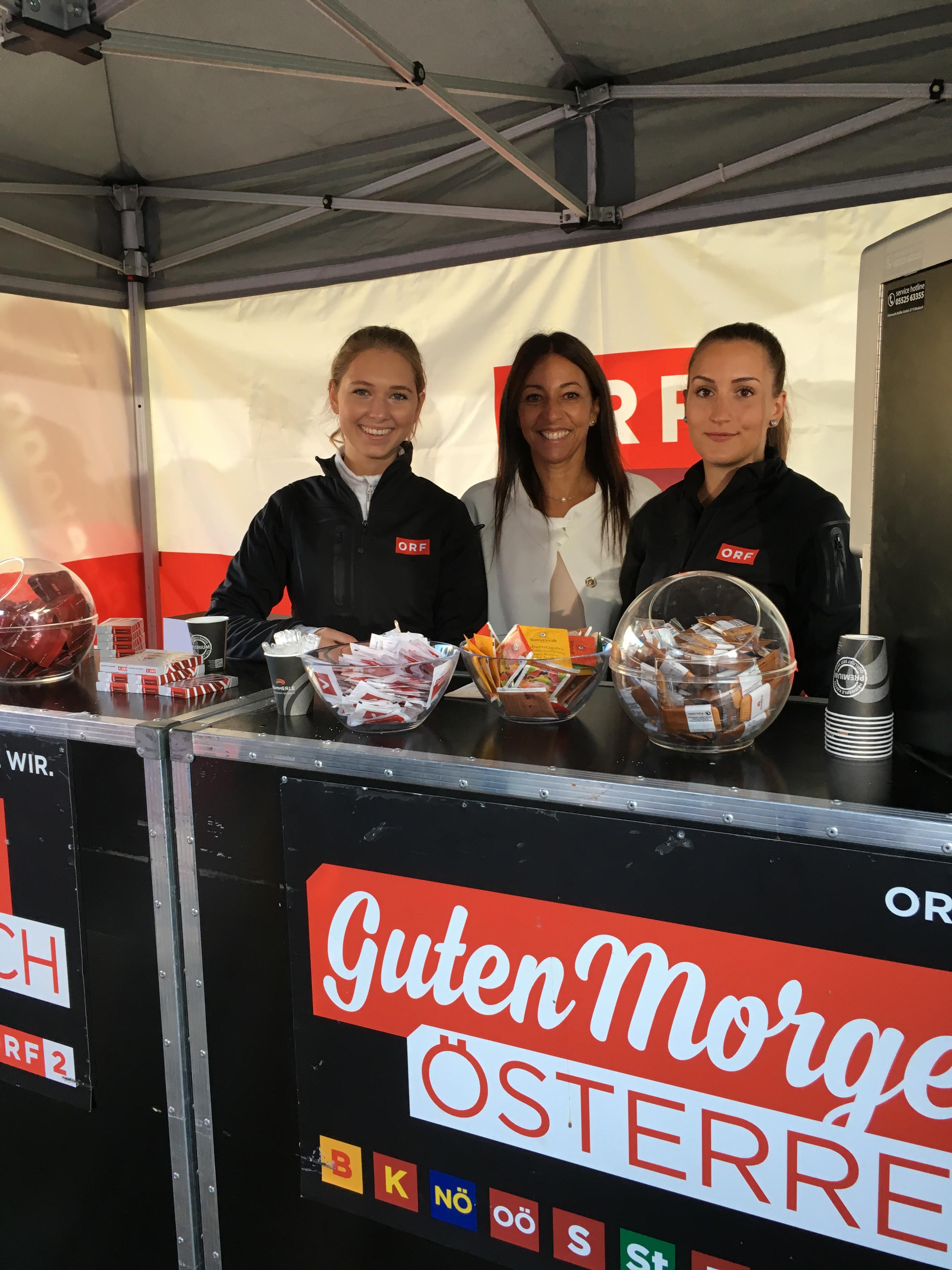 Guten Morgen Österreich aus Bezau mit cinnamon Hospitality & Promotion