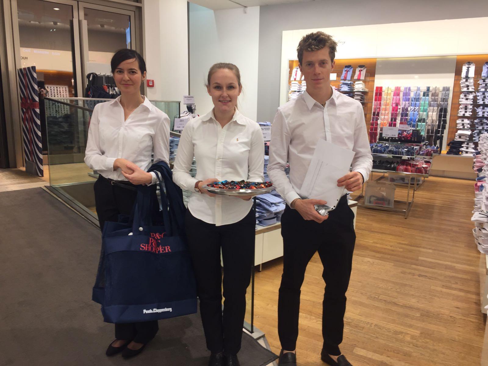 An 13 Standorten mit über 250 Leuten von cinnamon Hospitality & Promotion in ganz Österreich im Einsatz bei der P&C Sale Night