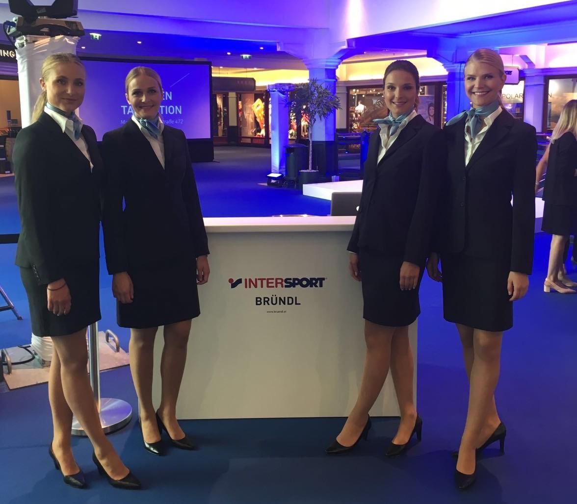 Intersport Bründl Shop Eröffnung mit cinnamon BLAQ(c) premium hospitality