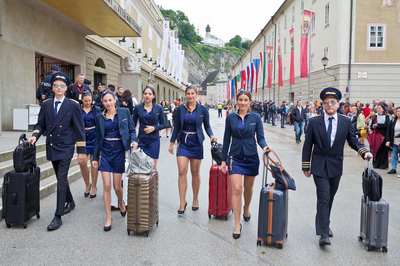 Die ersten Salzburger Samsonite Festspiele 2017 - in den Hauptrollen das Team von cinnamon Hospitality & Promotion, Foto: Wildbild