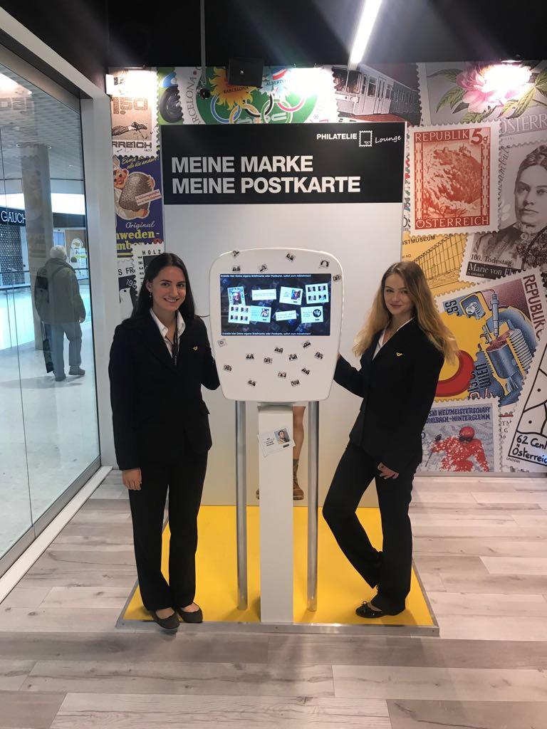 Philatelie Pop Up Store Eröffnung mit cinnamon Hospitality & Promotion, Bildrechte: @cinnamon GmbH