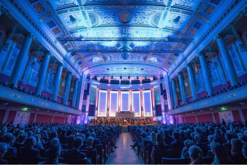 Rund 1.400 Gäste aus Wirtschaft, Kultur und Politik, Freunde und Wegbegleiter feiern 125 Jahre Kapsch im Wiener Konzerthaus, Bildrechte: @ Kapsch AG