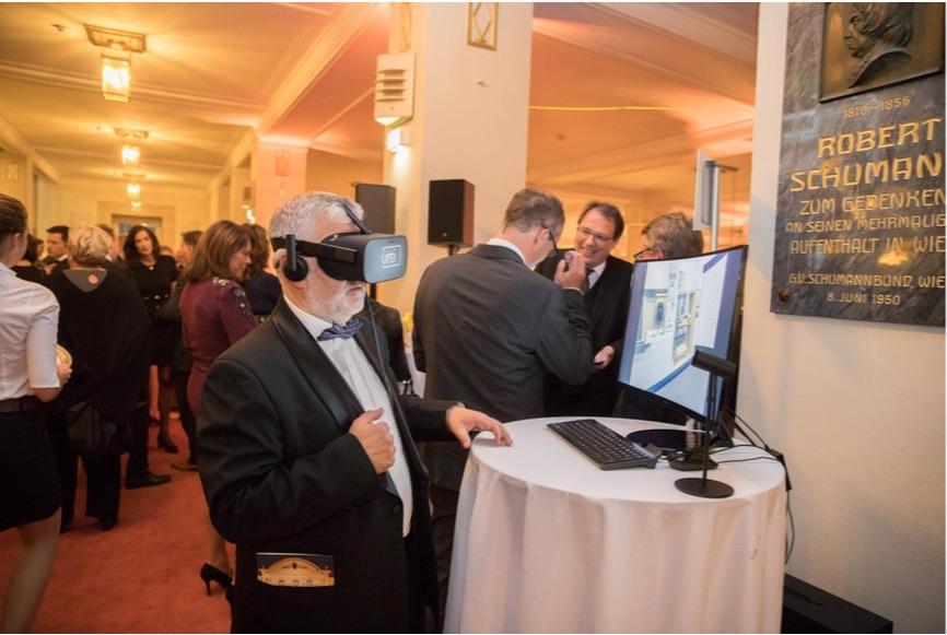 Eintauchen in die Zukunft der Virtual Reality, Bildrechte: @ Kapsch AG