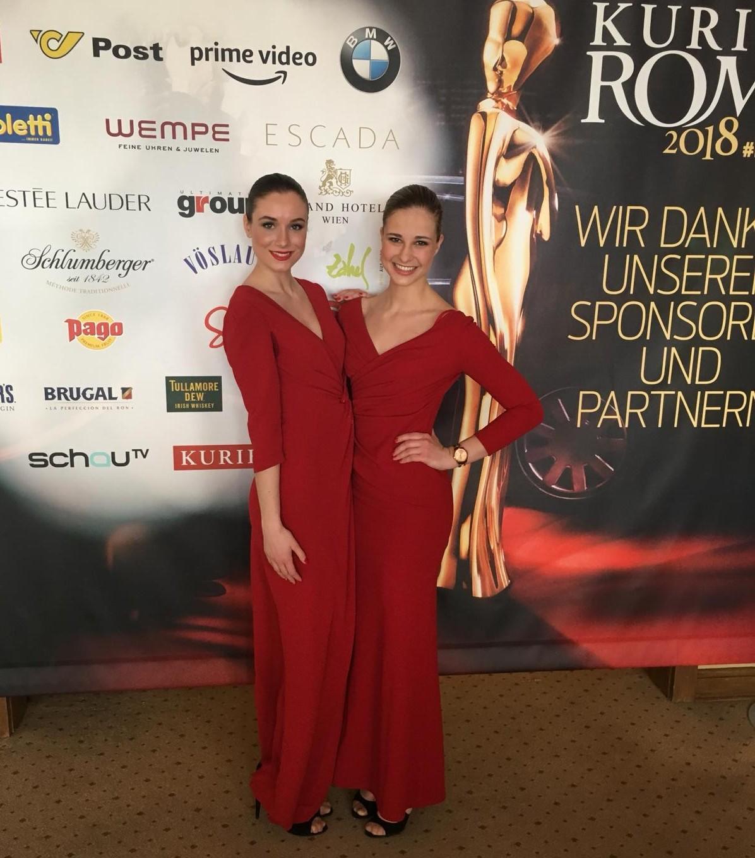 Kurier Romy Gala 2018 mit cinnamon Hospitality