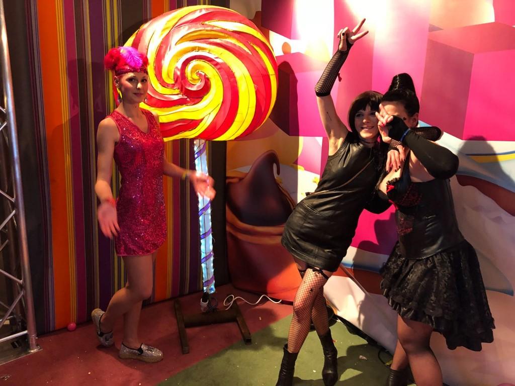 cinnamon T-Mobile Team beim Grazer Tuntenball 2018